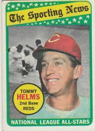1969 Topps 'Sporting News All-Star' #418 Tommy Helms (Cincinnati) | eBay